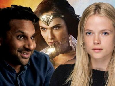 Wonder Woman 1984 Casts Ravi Patel & Gabriella Wilde