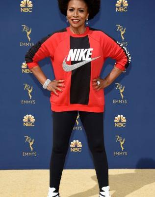 Goodbye, Dress Code: Leggings and Sneakers Just Arrived on the Emmys Red Carpet