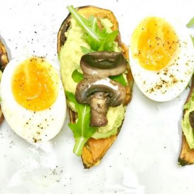 Avocado on Sweet Potato Toast
