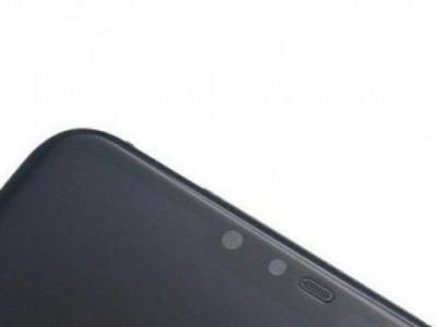 Alleged LG V40 ThinQ front panel leaked
