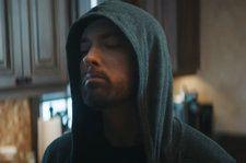 Eminem Is Stabbed by Jessie Reyez in Chaotic Video for 'Good Guy': Watch