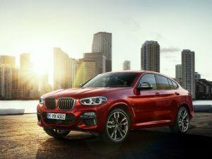 Second-gen BMW X4 Coupe Revealed Coming To India BMW X3 BMW India X4 X3