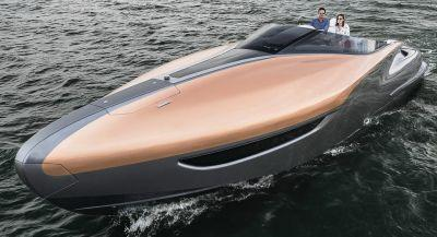 Lexus Dips Into Marine Industry With A Twin V8 Sport Yacht Concept
