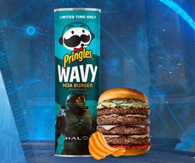 """'Halo' Joins Pringles for """"Moa Burger""""-Flavored Chips"""