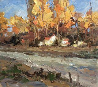 COLORFUL AUTUMN LANDSCAPE by TOM BROWN
