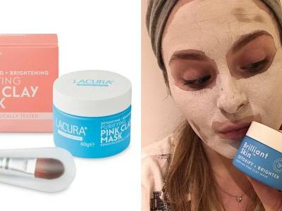 Aldi's New Pink Clay Mask Is £34 Cheaper Than the Insta-Famous Original