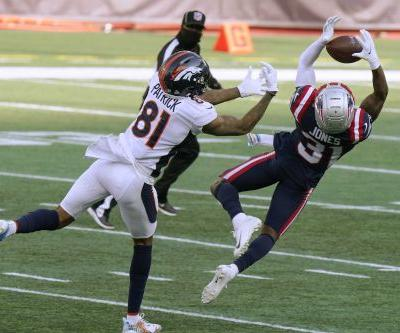 McManus' 6 FGs lift Broncos over Pats in COVID-delayed game