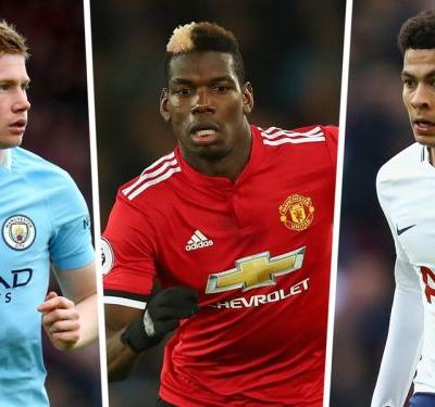 Premier League most assists 2017-18: Man City stars Sane & De Bruyne top charts