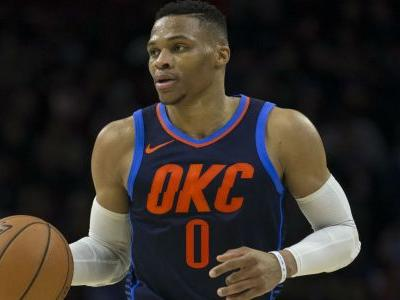 NBA wrap: Russell Westbrook's triple-double powers Thunder past 76ers