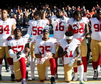 NFL players union files grievance over anthem policy