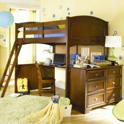 20 Luxury Loft Beds with Desk Full Size Images