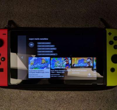 The media-starved Nintendo Switch just got a YouTube shot in the arm