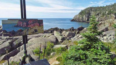 Painting Retreat: Lubec, Maine - Wrap-up