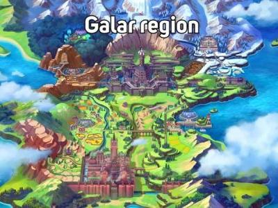 9 Things the Galar region map in Pokémon Sword and Shield tell us