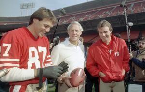 Former 49ers wide receiver Dwight Clark dead at 61
