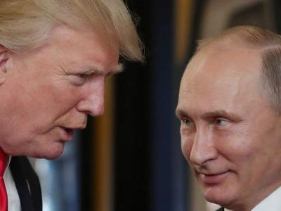 Trump Launches Attack Over Russian Meddling on Day of Putin Summit