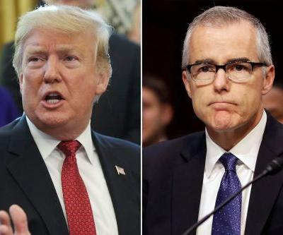 Trump slams McCabe for planning 'very illegal' act against presidency
