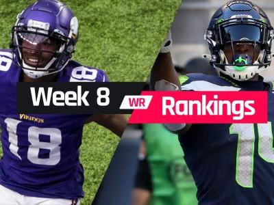 Week 8 Fantasy WR Rankings: Must-starts, sleepers, potential busts at wide receiver