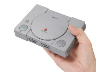 Sony Announces PlayStation Classic, a Mini PS1 Loaded With 20 Games, Coming in December