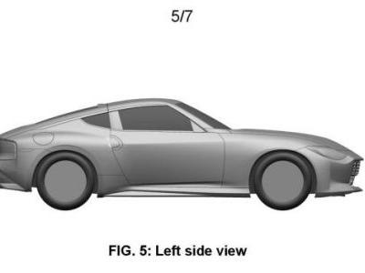 Patents Show Nissan's New Z Looking Exactly Like The Prototype