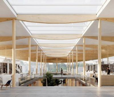 ALA Wins Competition to Design New University Library in Lyon