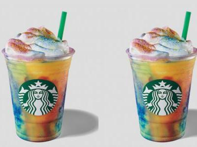 How Long Will Starbucks' Tie-Dye Frappuccino Be Available? Try The Groovy Sip Soon