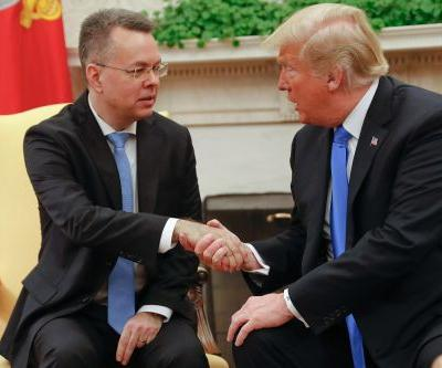 Trump meets pastor freed from Turkish prison at White House