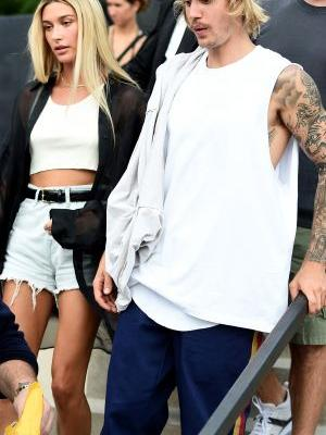 Justin Bieber & Hailey Baldwin's 'Vogue' Cover Is Like A Snapshot Of Their Future Wedding