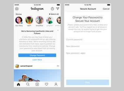 Instagram purges fake followers, likes, and comments generated from other apps