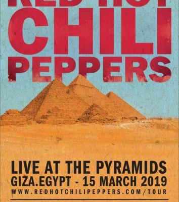 Red Hot Chili Peppers to rock Egypt's Great Pyramids, reveal new album sessions halted by wildfire