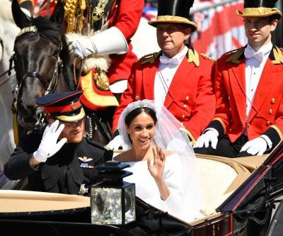 Snapshots from Prince Harry and Meghan Markle's big day