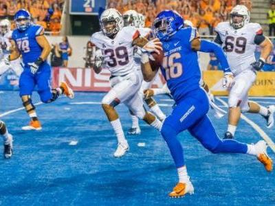 WR John Hightower one of three who'll miss Boise State's bowl game