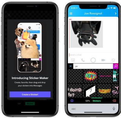Giphy Updates With 'Sticker Maker' Feature for iPhone X Owners, Expands Keyboard Extension Support