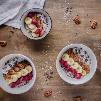 Chocolatey Pecan Chia Cereal