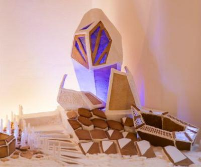 Sugar, Splice, and All Things Iced: Fosters and ZHA Create a Gingerbread Paradise