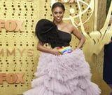 You Need to See Laverne Cox's Red Carpet Statement, Which Starts With Her Rainbow Bag