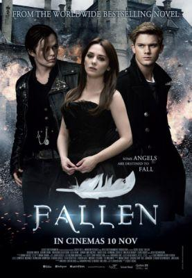 Fallen movie starring Addison Timlin, Jeremy Irvine, and Harrison Gilbertson