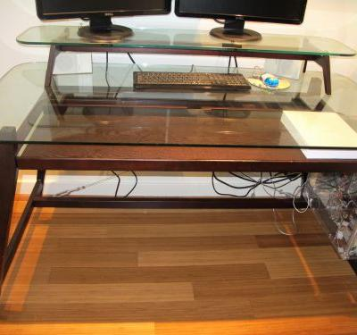 20 Inspirational Wood Desk with Glass top Graphics