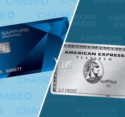 We compared the Chase Sapphire Preferred to the AmEx Platinum - and this time, the winner isn't clear-cut