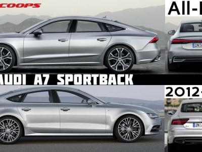 Old Vs New Audi A7: Does Prologue Styling Make It Worth The Wait?