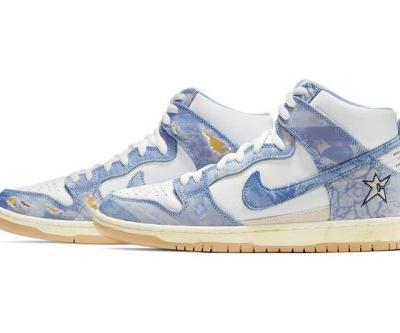 Carpet Company's Nike SB Dunk High Is Even Better When Destroyed
