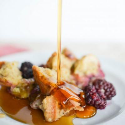 Berry Overnight French Toast