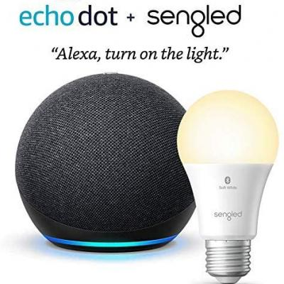 Bundle The New Echo Dot With A Sengled Smart Bulb For $29