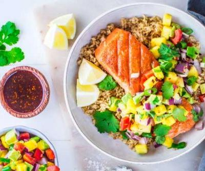 Recipe: Tropical Grilled Salmon