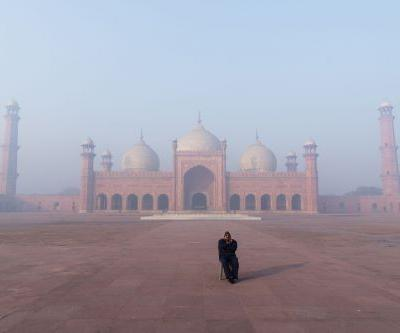 An outdoor exhibition of Silk Road photos opens today in London