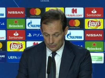Juve need to be more aggressive in second leg - Allegri