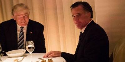 Let Us Imagine Trump and Romney's Dinner Conversation