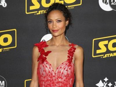 Thandie Newton's Dreamy Rodarte Dress Had Tulle, Sequins and Butterflies