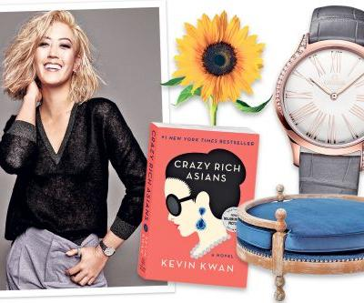 Golfer Michelle Wie tees up fall with a glitzy watch and classic kicks