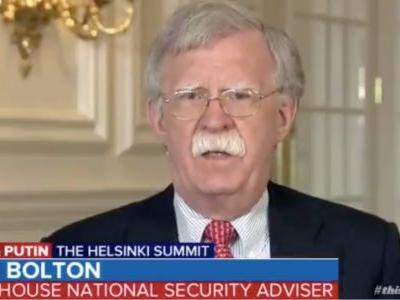 Bolton says Mueller's indictment of 12 Russian intelligence officers 'strengthens' Trump's hand in his meeting with Putin